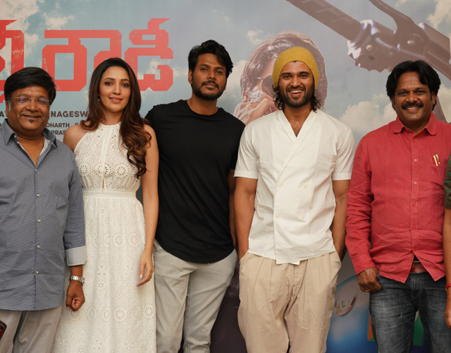 Gully Rowdy Movie Teaser Launch