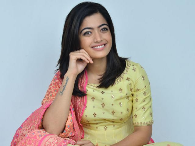 Image result for rashmika mandanna short hair cut