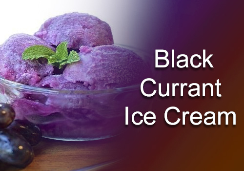 Black Current Ice Cream