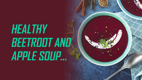 Healthy Beetroot and Apple soup
