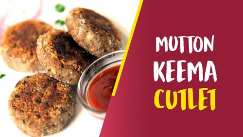 Mutton Keema Cutlet