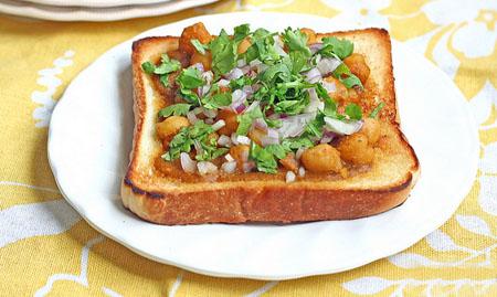 Bread Chaat