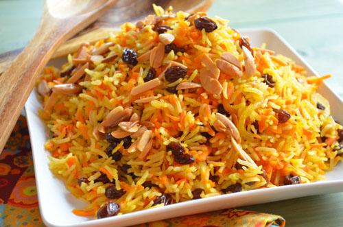 Carraot Rice Recipe