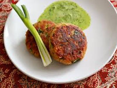 Chicken Shami Kebabs