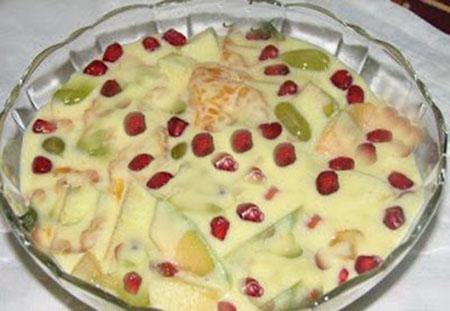 Fruit kheer recipe