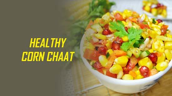 Healthy Corn Chaat
