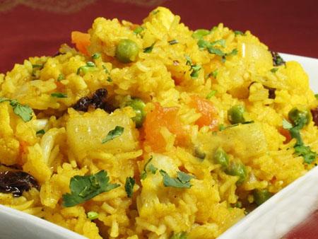 Vegetable Khichidi