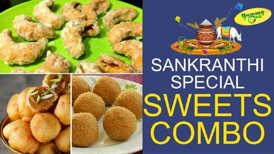 Sankranthi Special Sweets Combo