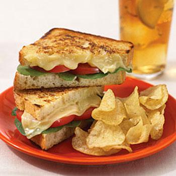 Sweet Chilli Chicken Grilled Cheese Sandwich