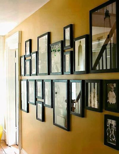 Who Doesnot Hang Picture Frames On Walls Atleast One No Matter How Minimalistic Your Home Decor Is There Are Many Diffe Interesting Ways To