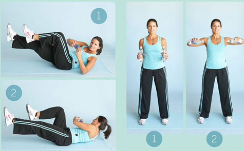 water bottle workout for your arms  simple water bottle