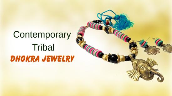 Contemporary Tribal Dhokra Jewelry