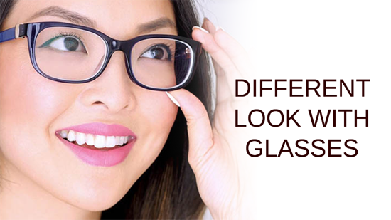 ENHANCE THE OVERALL LOOK WITH GLASSES