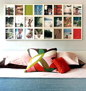 Art Of Displaying Photographs Photo Wall Display Ideas Design Style Tips Inspired Room